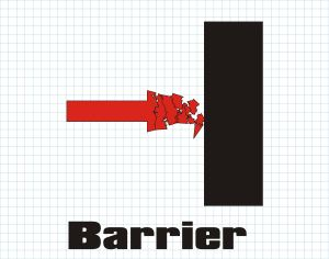 Acoustical barrier